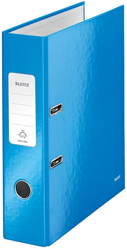 Leitz WOW ordner blauw, rug van 8,5 cm