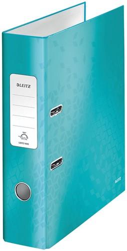 Leitz WOW classeur à levier, bleu glacier, dos de 8,5 cm