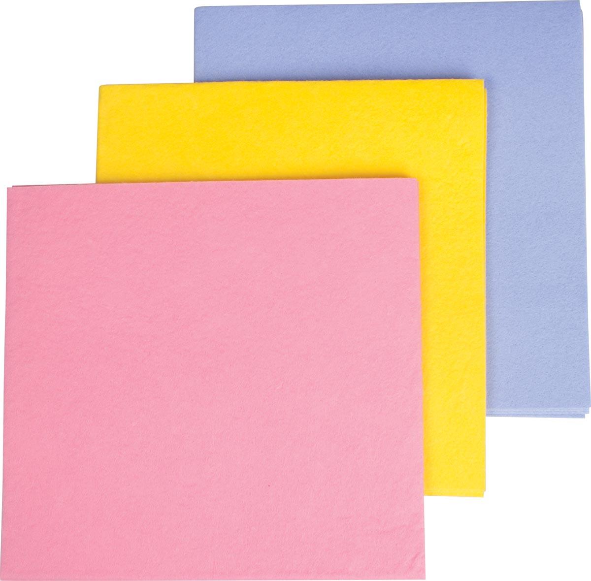 Vileda poetsdoek All Purpose, geel, pak van 10 stuks-2