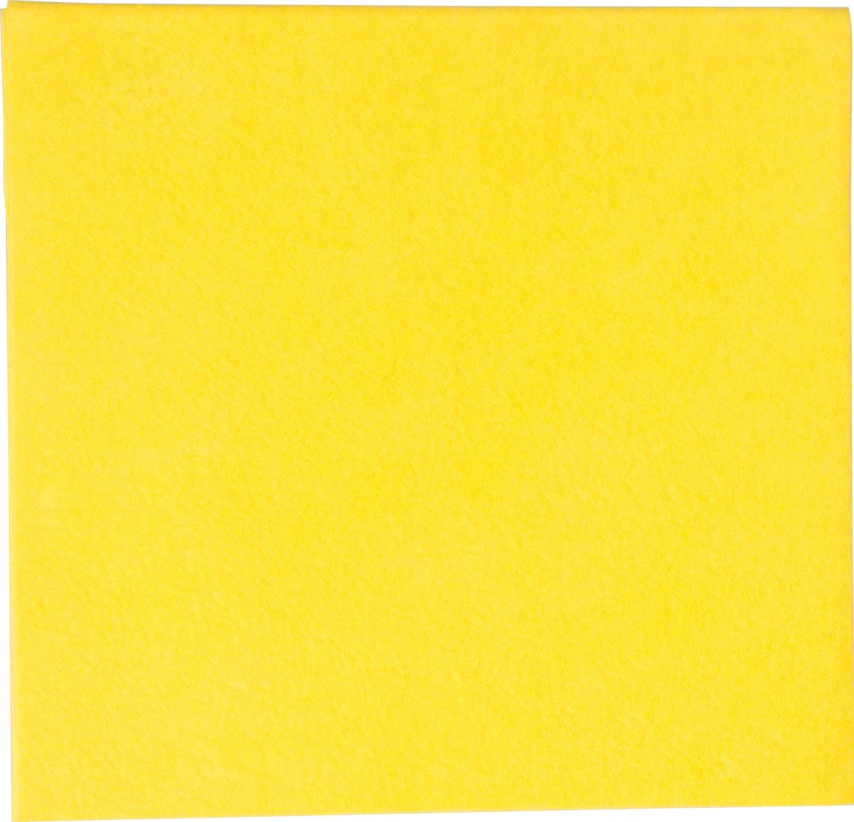 Vileda poetsdoek All Purpose, geel, pak van 10 stuks