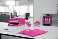 Leitz WOW ordner roze, rug van 5 cm-2