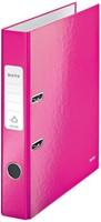 Leitz WOW ordner roze, rug van 5 cm