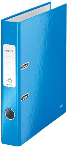 Leitz WOW ordner blauw, rug van 5 cm