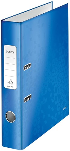 Leitz WOW ordner blauw, rug van 5,2 cm