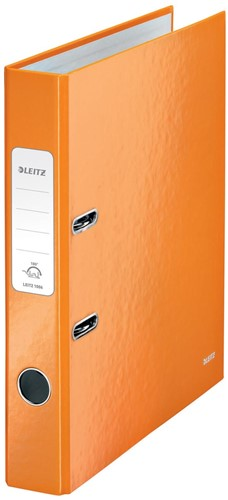 Leitz WOW ordner oranje, rug van 5 cm