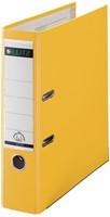 Leitz ordner geel, rug van 8 cm