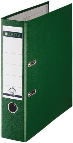 Leitz ordner groen, rug van 8 cm