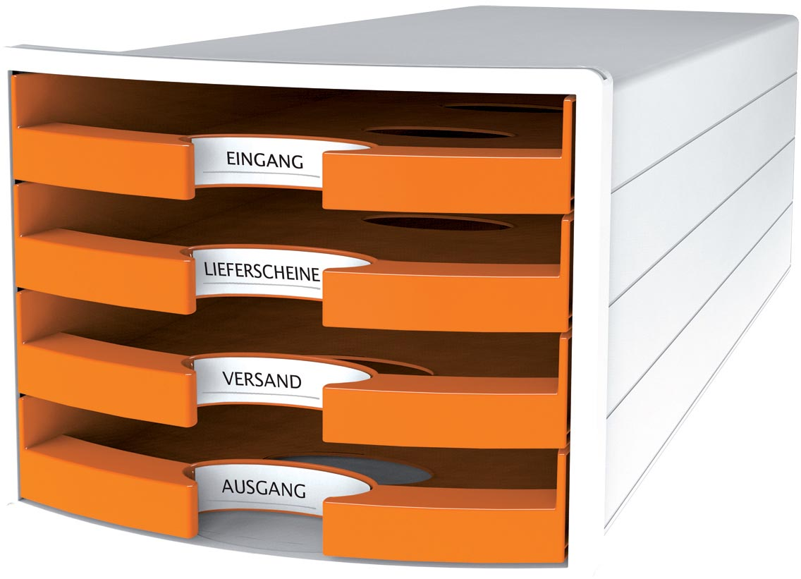 Han ladenblok Impuls, open laden, Trend Colour oranje