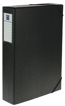 5 Star elastobox Heavy Duty A4, rug van 7 cm, zwart