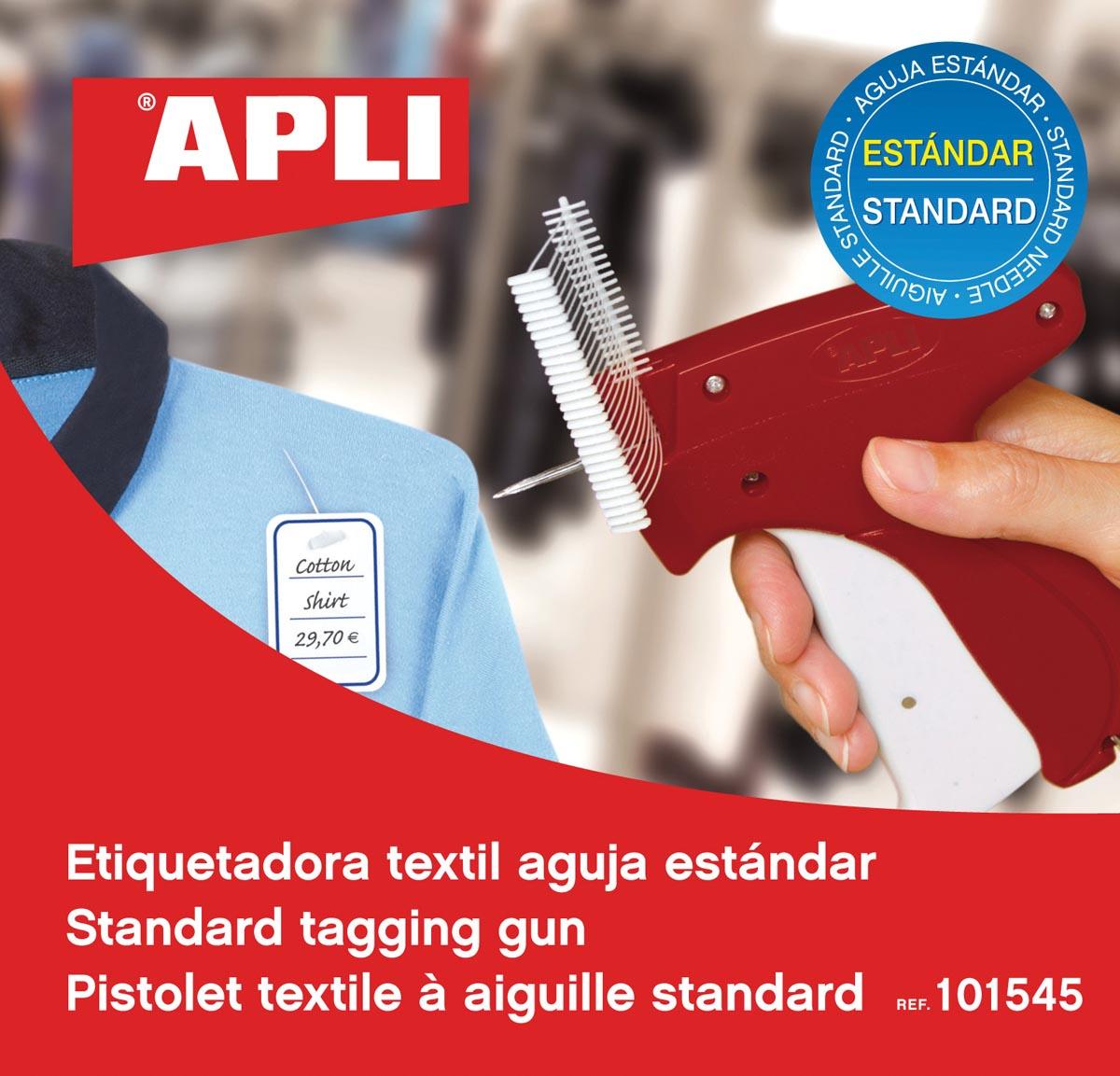 Apli textielpistool voor standaard stoffen