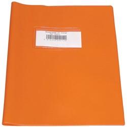 schriftomslagen oranje, ft schrift 16,5 x 21 cm