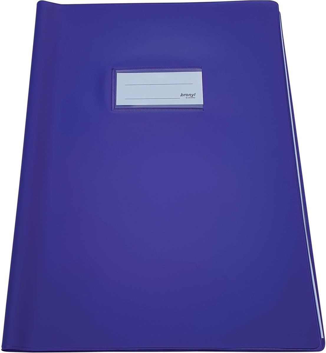 Bronyl schriftomslag ft 21 x 29,7 cm (A4), paars