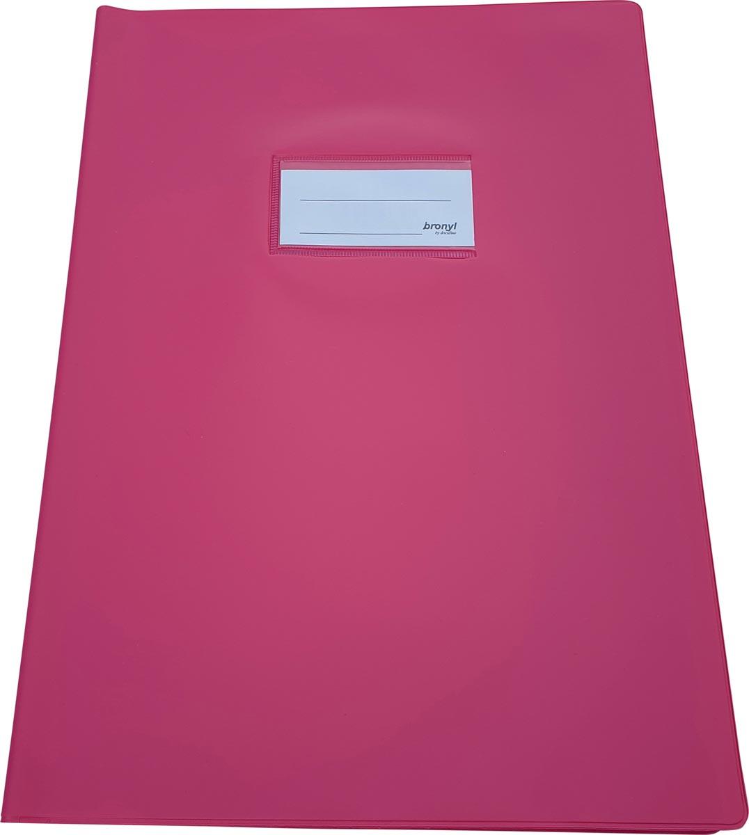 Bronyl schriftomslag ft 21 x 29,7 cm (A4), roze