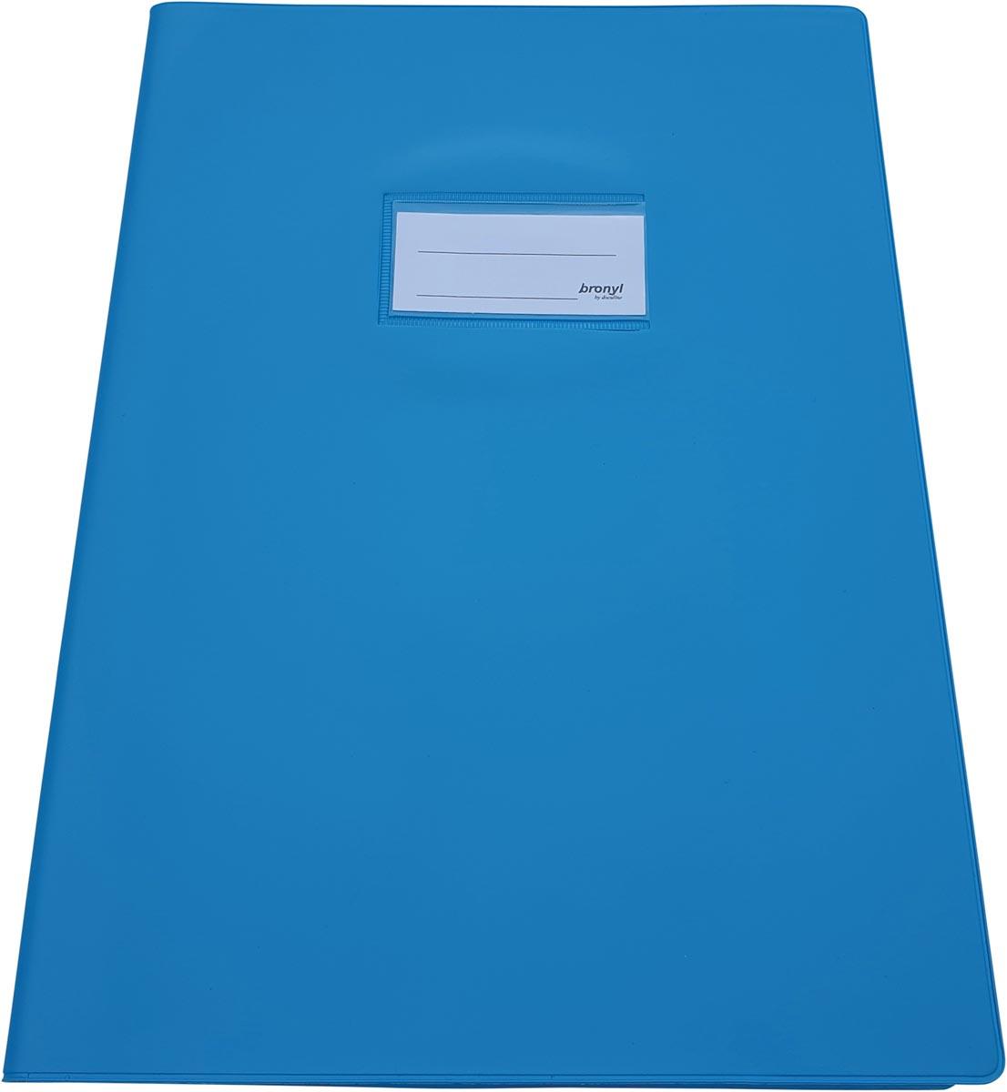 Bronyl schriftomslag ft 21 x 29,7 cm (A4), lichtblauw