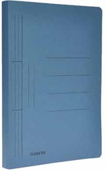 Class'ex hechtmap, ft 25 x 34,7 cm (voor ft folio), blauw
