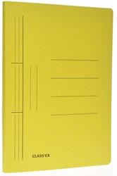 Class'ex hechtmap, ft 25 x 34,7 cm (voor ft folio), geel