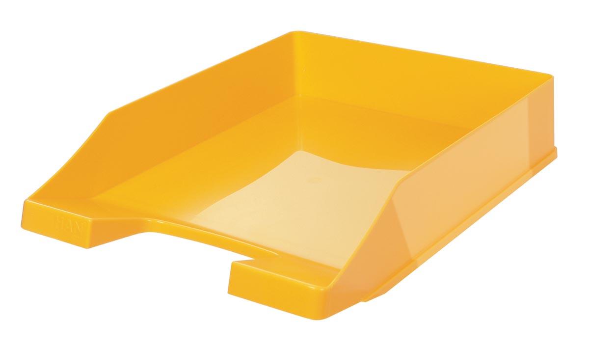 Han brievenbakje C4 geel