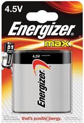 Energizer batterij Max 4,5V, op blister