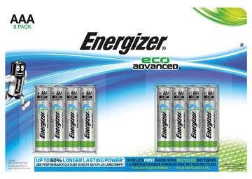 Energizer HighTech AAA batterij (potlood) Alkali-mangaan 1.5 V 8 stuks