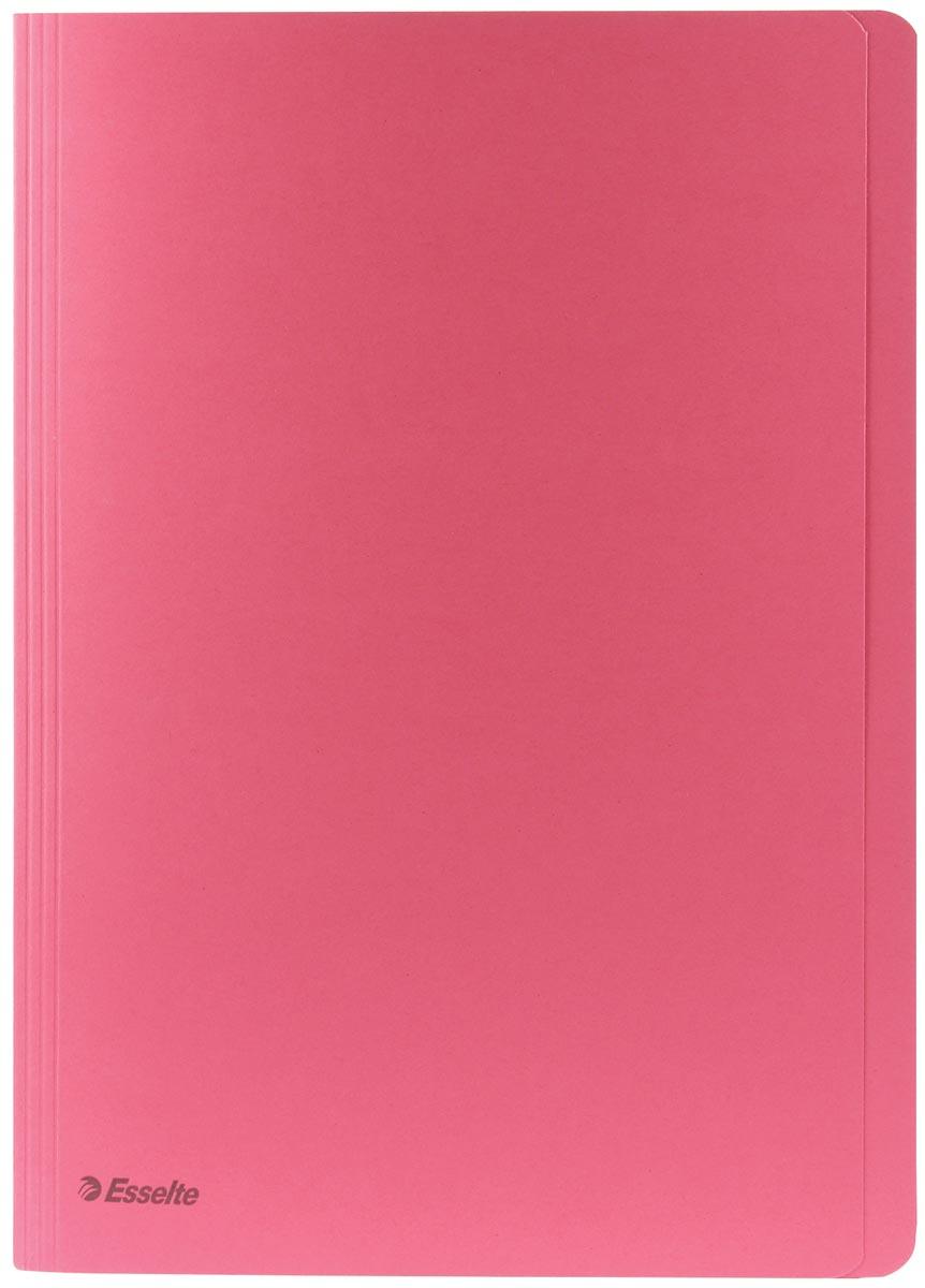 Esselte dossiermap roze, ft A4