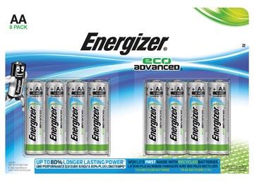 Energizer AA batterij (penlite) Alkali-mangaan 1.5 V 8 stuks
