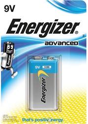 Energizer batterij Advanced 9V, op blister