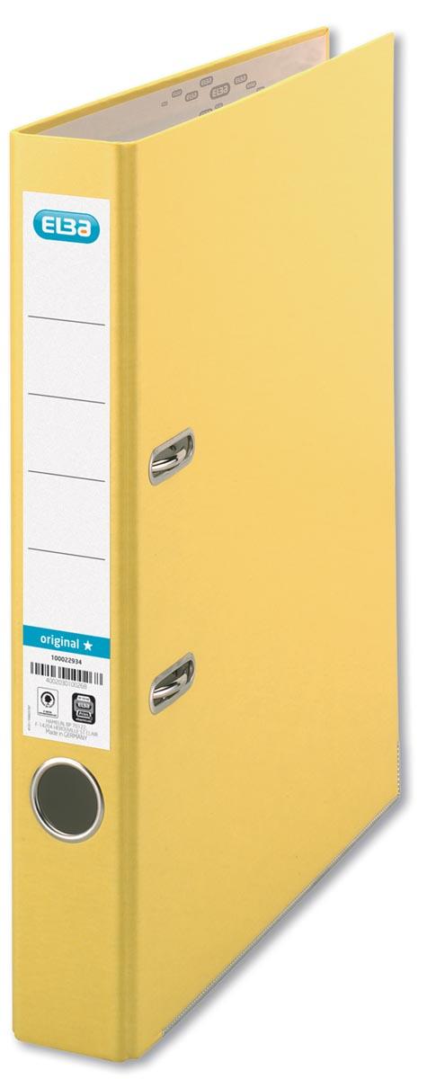 Elba ordner Smart Original geel, rug van 5 cm