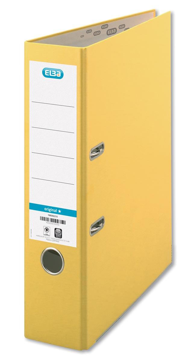 Elba ordner Smart Original geel, rug van 8 cm