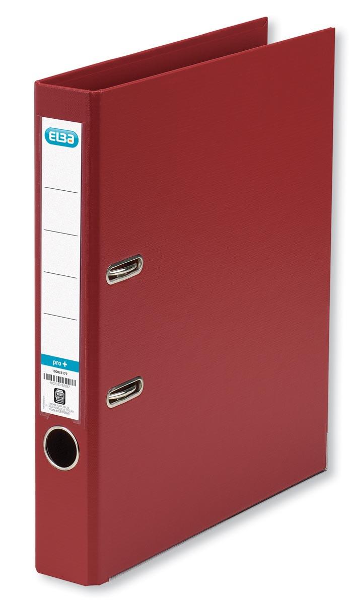 Elba ordner Smart Pro+, bordeaux, rug van 5 cm