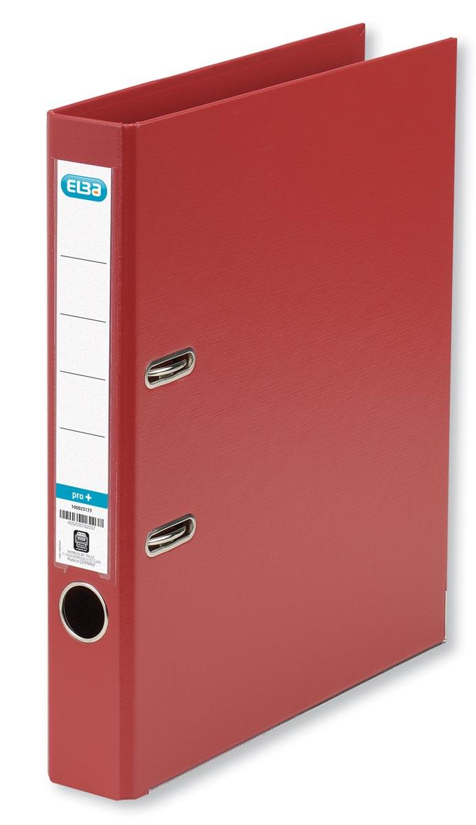 Elba ordner Smart Pro+, rood, rug van 5 cm