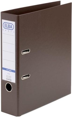 Elba ordner Smart Pro+,  bruin, rug van 8 cm