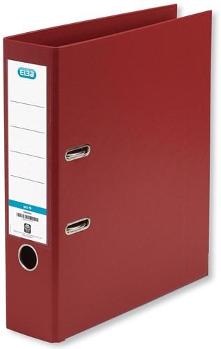 Elba ordner Smart Pro+,  bordeaux, rug van 8 cm