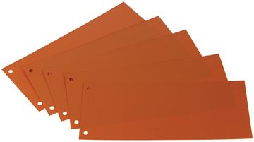 Class'ex verdeelstroken oranje, pak van 100