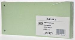 Class'ex verdeelstroken groen, pak van 100