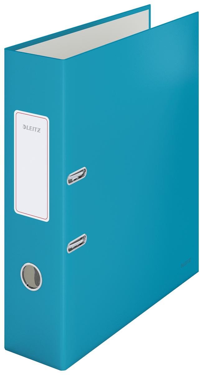 Leitz Cosy ordner met soft touch oppervlak, rug van 8 cm, blauw