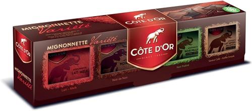 Côte d'Or chocolade Mignonnette, Four Seasons, doos van 32 stuks
