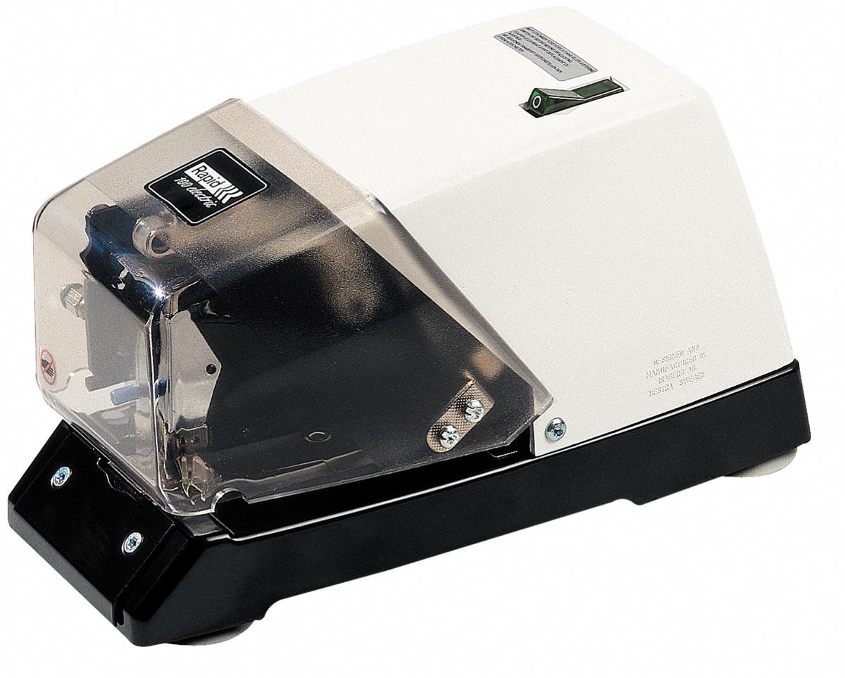 Rapid Classic contactloze electrische nietmachine 100E (66/6), wit