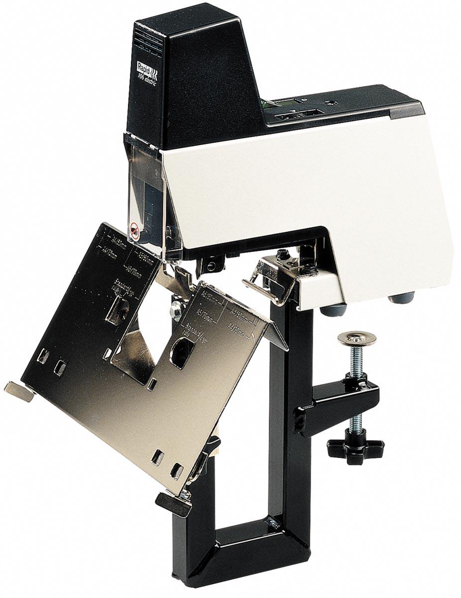 Rapid Classic contactloze elektrische nietmachine 106E (66/6), wit/zwart
