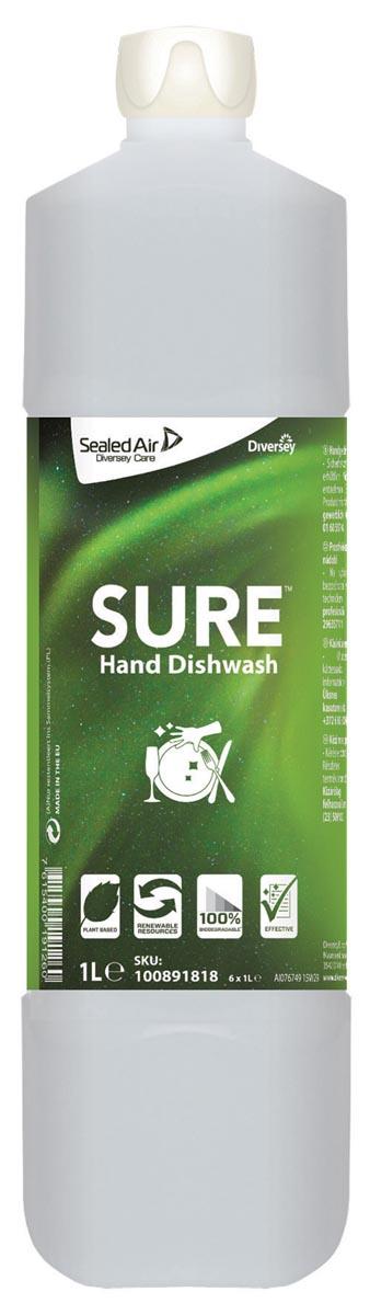 Diversey handafwasmiddel sure, 1 liter