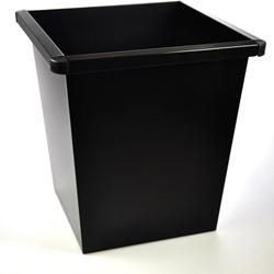 Class'ex papiermand, 27 liter, zwart