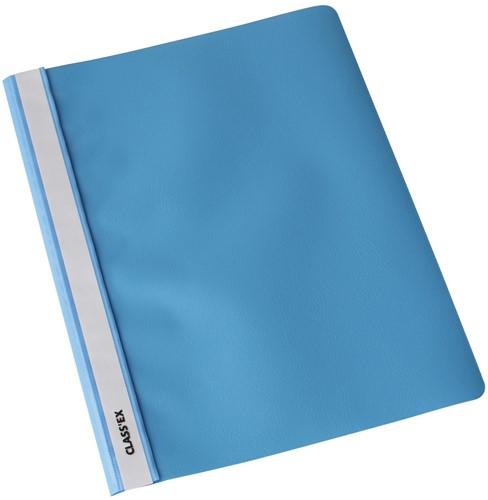 Class'ex snelhechtmap lichtblauw, pak van 25 stuks