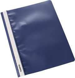 Class'ex snelhechtmap donkerblauw, pak van 25 stuks