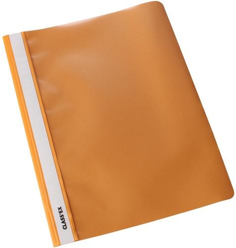 Class'ex snelhechtmap oranje, pak van 25 stuks