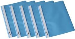 Class'ex snelhechtmap lichtblauw, pak van 5 stuks