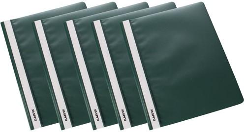 Class'ex snelhechtmap groen, pak van 5 stuks