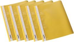 Class'ex snelhechtmap geel, pak van 5 stuks