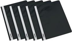 Class'ex snelhechtmap zwart, pak van 5 stuks