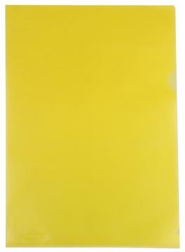 Class'ex L-map, gekorreld, geel, pak van 25 stuks