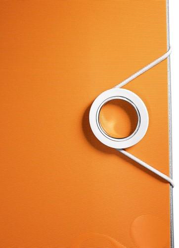 Leitz WOW ordner Active rug van 7,5 cm, oranje-2
