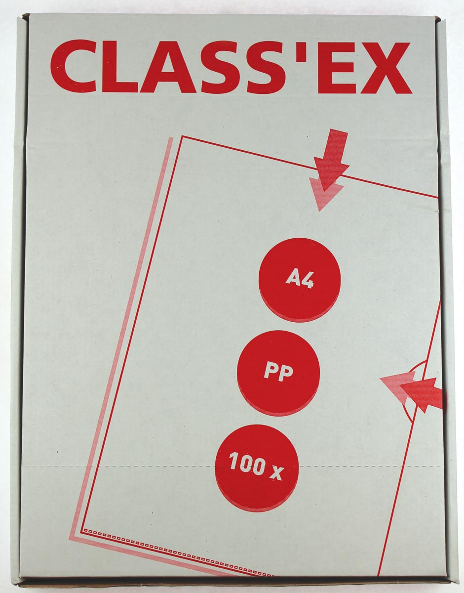 Class'ex L-map, gekorreld, doos van 100 stuks